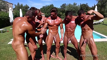 Gay montana camping - Fitcasting - gladiator camp - part 4/12