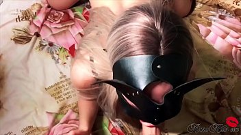 17774 Fantastic Blonde Deepthroat and Dogging in Lingerie - Jumps on Dick preview