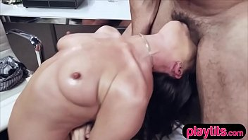 My hot MILF boss wanted to fire me so I fucked her hard