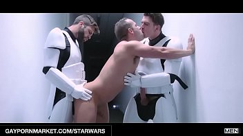 War protested because it supports gays Star wars gay porn luke skywalker fucked by stormtroopers