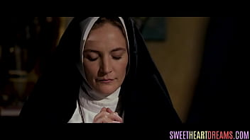 Lesbian nun enticed by pussy check