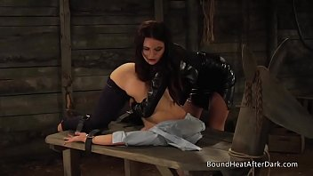 Lesbian Slaves In Bondage Moaning And Screaming During Slave Trainings