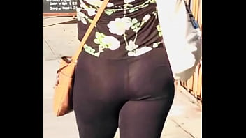 Home Grown Jiggly Booty (Thong and See through Leggings)