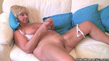 British granny Samantha needs her daily orgasm preview image