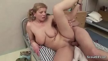 Soldier Fuck Hooker with Big Natural Tits in Caserne
