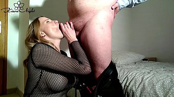 Blonde Sucking Dick Boss the Office - Closeup