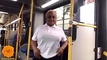 Houston College Ebony Slut Drains Black Monster Cock On Public Bus