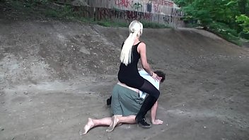 Femdom Girls use guys for petplay