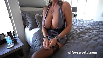 Busty Wifey Gets Fucked And Swallows A Big Cumshot