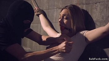 Hairy Slave Fucked And Whipped In Bdsm