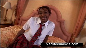 Busty black school teen fucking Hot Student Video