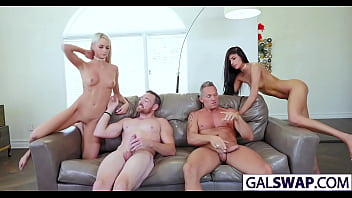 Dads Swapping Cutie Daughters Emma And Katya