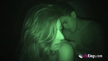 Literal Blind date. Lina fucks Ricky in complete darkness!