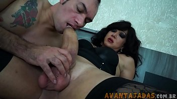 swallowing transvestite giant cock