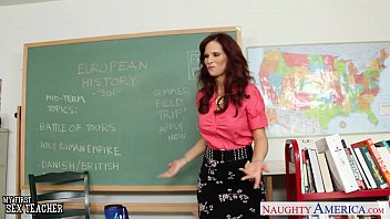 Teacher stockings sex Redhead sex teacher syren de mer fucking in the classroom