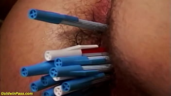 tight hairy milf deep ass toyed and fucked