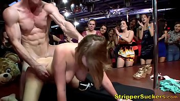 Dirty Cheating Sluts Suck &amp_ Fuck Male Strippers At CFNM Party