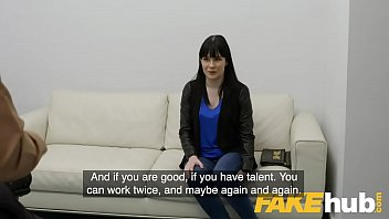 Fake Agent Shy amateur with perky tits tries adult casting
