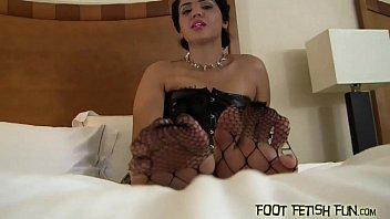 Run your tongue along Bossy's perfect feet