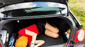 Step brother And Step sister Hard Sex In The Car