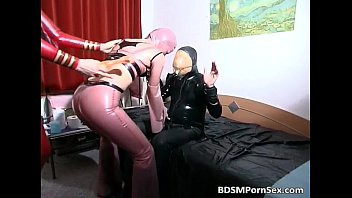 Great BDSM scene with two filthy babes