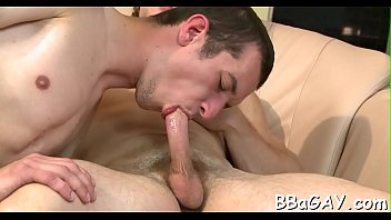 Free video gay penis sucking Riding on a huge pecker is stylish gay studs forte