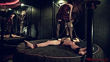 Femdom Nipple Torture of a chained male Sub ◦ rorriegomez porn thumbnail