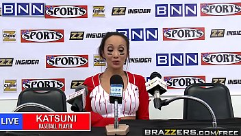 Brazzers - Big Tits In Sports -  Fuck The Fans scene starring Katsuni and Keiran Lee thumbnail