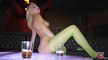 """GIRLS GONE WILD - Blonde Teen """"Tiffany"""" Plays With Herself During Casting Session"""