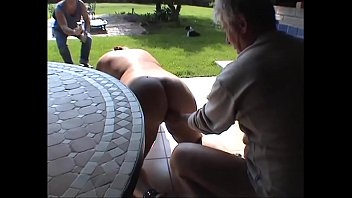 Suzisoumise the whore on the whipping post