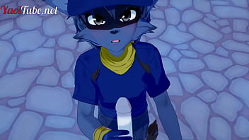 Sly Cooper Furry Yiff Yaoi - Fox x Sly Cooper, Handjob, Blowjob & Anal with multiple cums