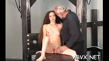 Maiden who is making her very first porn video