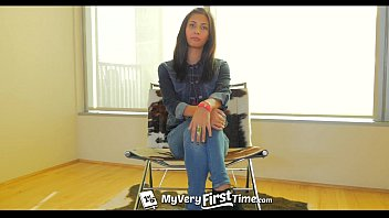 MyVeryFirstTime - Awkward Jade Jantzen takes two cocks for the first time