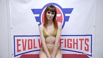 Alexa Nova Fucked in the Ass after mixed nude wrestling loss