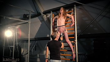 Hardcore BDSM and bondage fetish sex for teen in submission