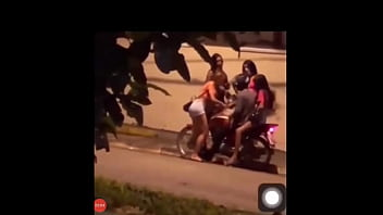 brand new ass big damage the cunt on the street with her friends in the blowjob