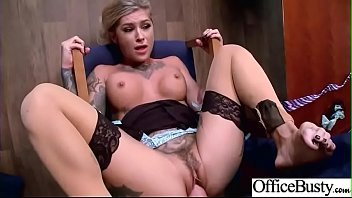 (Kleio Valentien) Busty Slut Office Girl Love Hardcore Sex clip-11