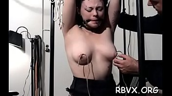 Voluptuous cutie is playing with her big fake penis