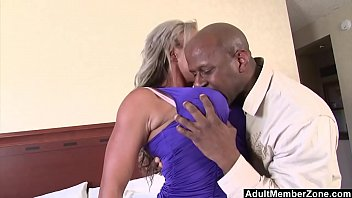 Black adult amateur Adultmemberzone - big titted milf craves huge black cock