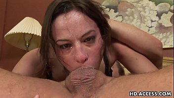 The biggest cock in history Messy and wildest blowjob in history