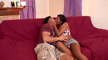 Latina teen fucks new bf for the first time thumbnail