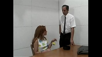 Young slut with red hair Kate Frost proposes cop from pussy posse to work out without a criminal record