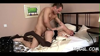 Girlie with small breasts and nice ass gets anal fucked hot