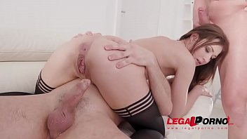 Mina anal fucking 3on1 with DP, DVP & Piss drinking SZ2353