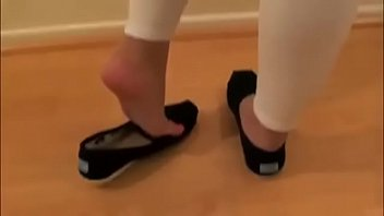 Pretty Armenian Shoeplay in Toms Part 1- www.prettyfeetvideo.com