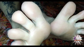 I pour oil on my feet and I can jerk you off.