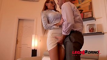 Sexy Office Bitch Kitana Lure begs for Anal Sex & Facial cumshot GP512 40秒
