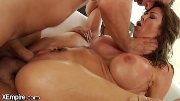 XEmpire - Big Tittied Milf Gets Double Penetrated