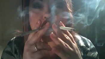 British BBW Mistress Tina Snua Wants You To Be Her Smoke Slave As She Smokes 2 Cigarettes At Once