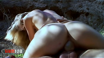 French blonde actress Léa Cisley porn scene in the woods - remastered